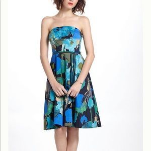 Anthropologie Vanessa Virginia Shadeflower Dress.